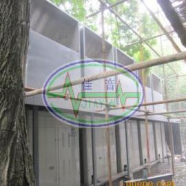 室外空调机组噪声治理