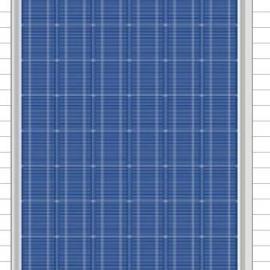 200W多晶硅太阳能电池板厂家直销