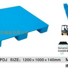 1210平板大九脚塑料托盘