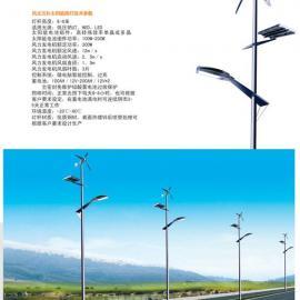 新疆风光互补节能路灯