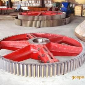水泥机立窑传动大齿轮 模数22齿数98