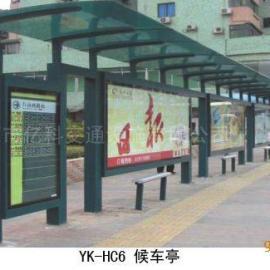 广东公交候车亭采购工程 广告灯箱候车亭东莞厂家