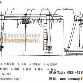 哪的MH 型电动葫芦门式起重机 (箱型)