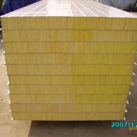 岩棉彩钢板|岩棉复合彩钢板|岩棉夹芯板|岩棉夹芯板价格