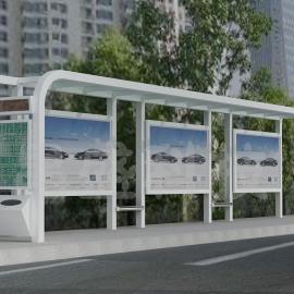 深圳有专业公交候车亭的厂家吗 道路市政公交站台指定单位