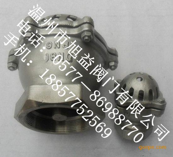 H12不锈钢丝扣底阀|不锈钢螺纹底阀