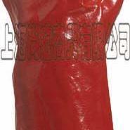 代尔塔40厘米PVC防微生物加强硫化手套/耐酸碱手套