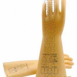 代尔塔5KV-30kv进口天然乳胶绝缘手套/防静电手套