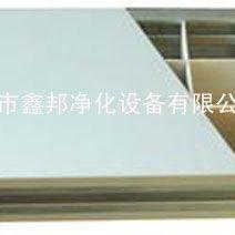 供应A级耐火防潮空格玻镁岩棉夹芯板 玻镁防火板 彩钢夹芯板