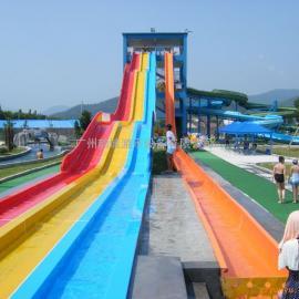 供应韵域水上乐园设备-大型水滑梯