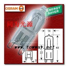 OSRAM ES 66720/66733/66748 230V 20W/33W/48W  G9 卤钨灯