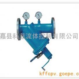 S型手摇刷式过滤器-工业过滤设备