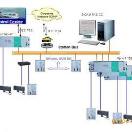 DISA规约的电力后台监控系统