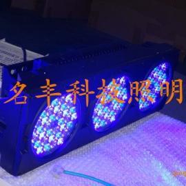 LED舞台灯,外控DMX512七彩108wLED投光灯