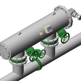全自动不锈钢定时控制自清洗过滤器,不锈钢刷式压差控制自清洗过