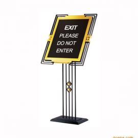 黑金刚指示牌报价/不锈钢指示牌 广东不锈钢指示牌厂家