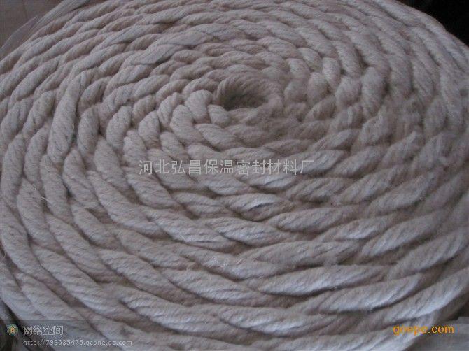 鞍山陶瓷纤维绳-大石桥硅酸铝纤维绳河北直销
