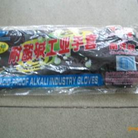DA广东耐酸碱手套牌批发东莞南洋橡胶耐酸碱防护手套