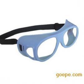 侧防铅眼镜
