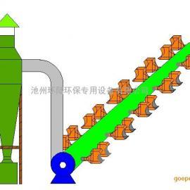 木工旋风湿法组合式除尘器