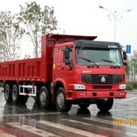 豪沃7.8米自卸车