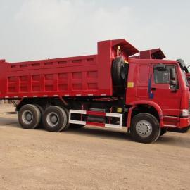 豪沃336马力6米自卸整车