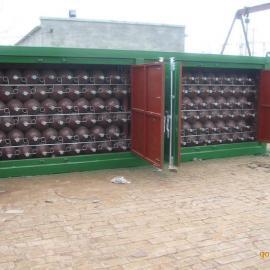 天然气集装阁、CNG钢瓶集装箱、高压气瓶