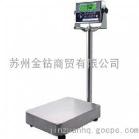不锈钢台秤/150kg不锈钢电子称/报警不锈钢台秤
