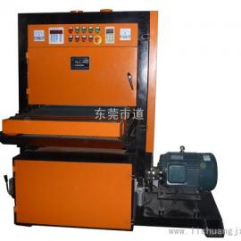 188平板自动拉丝机 输送式水磨拉丝机 直进式水磨拉丝机