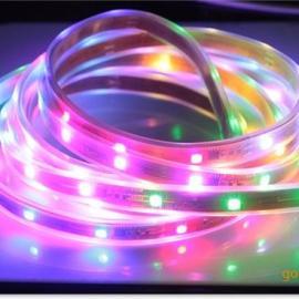 直销LED防水软灯条 5050SMD贴片 RGB炫彩灯条