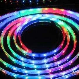 最新爆款带IC软灯条,LED套管防水灯条