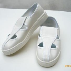 防静电鞋厂家,防静电PVC四眼鞋