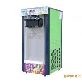 SL168S台式松菱软冰淇淋机价格优惠 商用甜筒冰淇淋机
