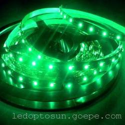 5050绿光红光防水LED灯带5050绿色LED灯条