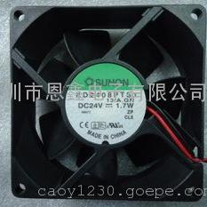 KD2408PTS1 建准 8CM 24V 1.7W风扇