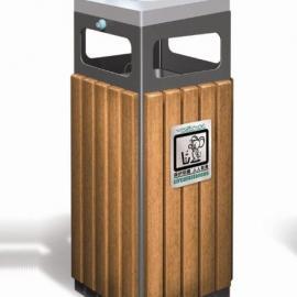 A-08美锐思钢木垃圾桶
