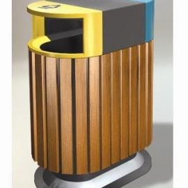 A-11美锐思钢木垃圾桶