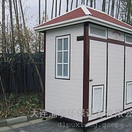 智能生态移动环保厕所-日本雕花板生态移动厕所厂家