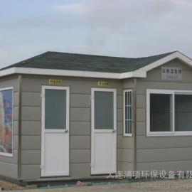 日本雕花板泡沫封堵式移动环保厕所-鞍山移动公厕厂家