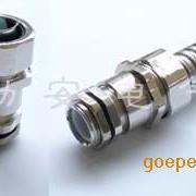 勒安带电缆夹紧金属软管接头|金属软管电缆防水接头