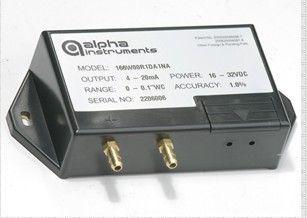 美国阿尔法ALPHA   Model 166微差压传感器 暖通空调用微差压传感