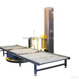 全自动在线缠绕栈板裹包机薄膜缠绕机