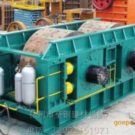 铁矿细碎专用大型2PGS2000X1000液压双辊破碎机