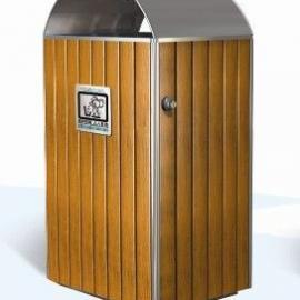南京垃圾桶美锐思A-13钢木垃圾桶