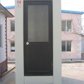 大连单体泡沫封堵式移动环保厕所-彩钢板移动厕所