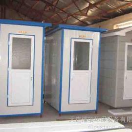 大连发泡式移动环保厕所-采钢板单体发泡厕所-泡沫厕所