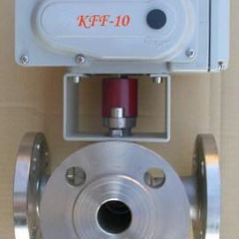 Q944F电动不锈钢L型三通换向球阀