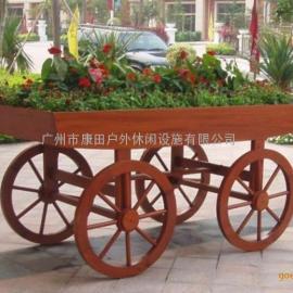 广场户外木制车(特价)KK-135