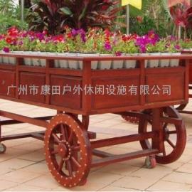 户外木制花车(特价)