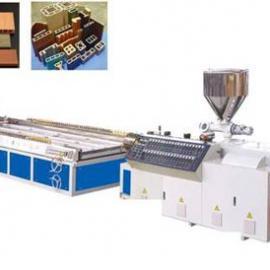 青岛鲁奥提供PE木塑地板设备